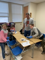 6th Grade Dissects Owl Pellets