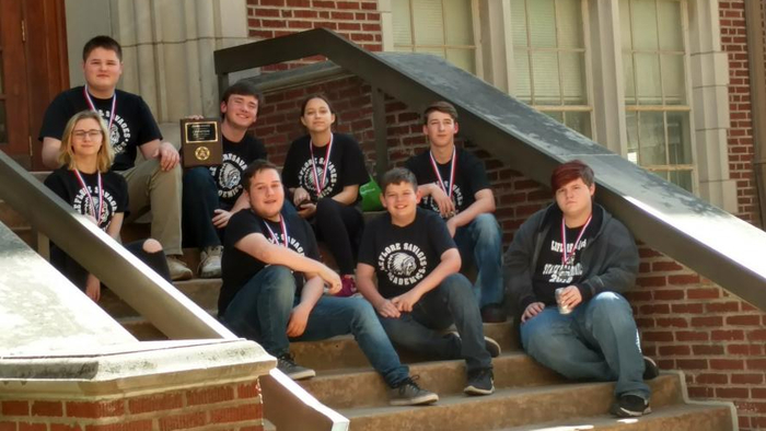 8th and 9th Grade Academic Team Champions